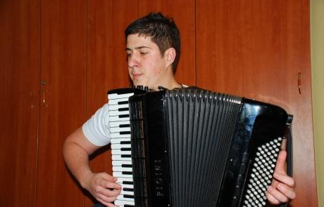 Концерт ученика хармонике, класа Наташа Гајић